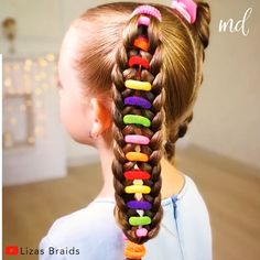 Pigtail Hairstyles, Baby Girl Hairstyles, Bun Hairstyles For Long Hair, Kids Braided Hairstyles, Hair Knot Tutorial, Hair Cutting Techniques, Girl Hair Dos, Natural Hair Styles, Long Hair Styles