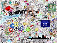 Ruhrpott Bilder: Poster von SaRidie-arts bei Posterlounge.de