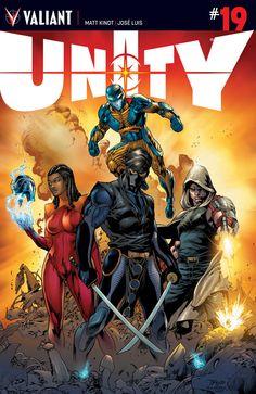 Unity #19 Cover A by Diego Bernard