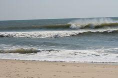 The waves at Carolina Beach