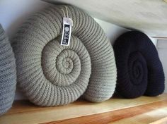 https://flic.kr/p/87Dbhp   Ammonite Shelf   Giant ammonites cusions are still available in a range of natural shades.