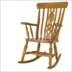 I would love a gorgeous wooden rocking chair