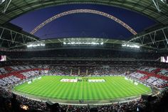 The new Wembley needs no introduction, 90,000 capacity and home to the England National side since opening in 2007, the fantastic Arch replaces the iconic twin towers on Wembley way and has played host to 2 Champions League finals already