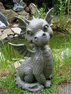 Ars-Bavaria Sitting Dragon Figure Gargoyle Garden Ornamen... https://www.amazon.co.uk/dp/B004YL9JJO/ref=cm_sw_r_pi_dp_x_FvFRybPCJKFZW