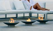 brazier - GANDIA BLASCO italy...love the sleek modern design