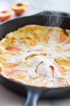 Peach Dutch Baby Source by caleyrittman Peach Pancakes, Pancakes And Waffles, German Pancakes, Baby Pancakes, Cooking Pancakes, Baby Food Recipes, Dessert Recipes, Cooking Recipes, Breakfast Dishes