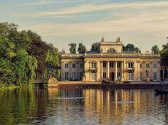 Lazienki Palace, Warsaw, Poland.