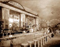 1919 Pacific Ocean Confectionery Soda Fountain - El Paso, Texas