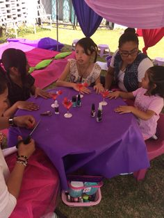 Chiky spa party