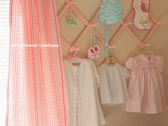 Cute little girl's nursery