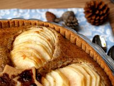 Pear and almond tart: Sugarfree recipe