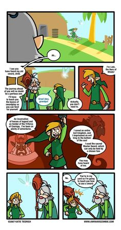i wish zelda games followed the timeline story, kinda if you know what i mean lol xD