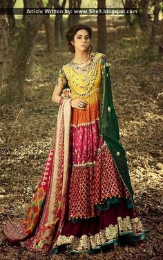Zahra Ahmad Occasional Wear Luxury Pret 2015
