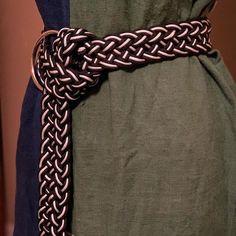 Paracord Belt - idea para hacer cinturones con paracord