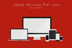 Apple Devices Flat Icon Free By Mostpato