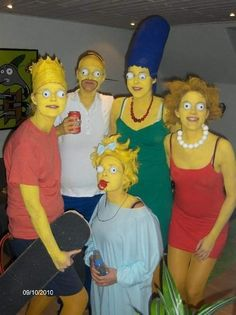 the Simpsons dress-up