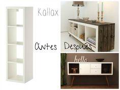 ejemplos muebles ikea antes y después
