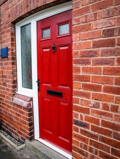 After - Love The Red Door. Value Doors Has Been Supplying And Installing Affordable & Value Doors \u0026 Composite Door Ex\u0026le Of Underbelly In White. High ... Pezcame.Com