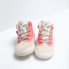 ZARA - SALE - FLEECE HIGH-TOPS SO FREAKIN ADORABLE!!!