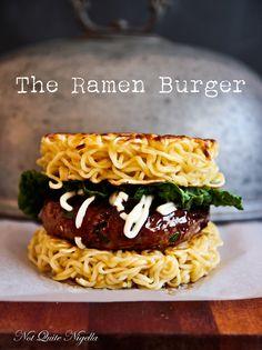 Ramen Burger @Lorraine Elliott