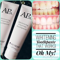 This whitening toothpaste is the best! I always have some in stock. Best Toothpaste, Whitening Fluoride Toothpaste, Skin Whitening, Ap 24, How To Order Coffee, Coffee Staining, Coffee Gifts, Beauty Bar, Beauty Supply