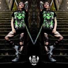"""CRMC X @russelltaysom """"Satan Rules"""" Tee Available at www.crmc-clothing.co.uk 