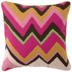 Star Magazine's Holiday Gift Guide 2011    Trina Turk Zig Zag needlepoint pillow