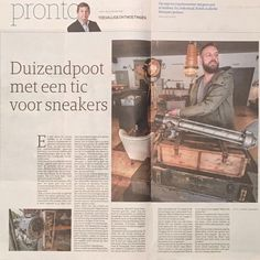 We are in the papers! #limburgsdagblad by 18thcentury.nl
