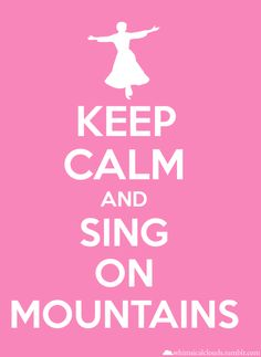 Sing on mountains