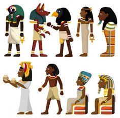 egyptian pattern 02 vector
