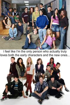 Degrassi. I love them all!