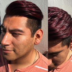 highlights hair by renowned london colourist 30 hair color highlights for men to rejuvenate youth 5 rules of hair highlights … 30 Hair Color, Maroon Hair Colors, Hair Color 2017, Mens Hair Colour, Hair Dye Colors, Hair Color Highlights, Hair Color Dark, Color Blue, Updo