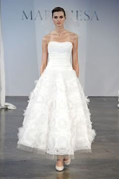 Marchesa wedding dress from the Spring 2014 bridal collection | via junebugweddings.com