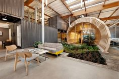 Hayden Place is a Sustainable Office for the Cuningham Group in Culver City