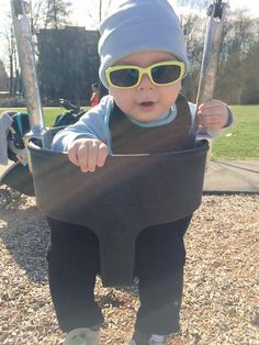 MAVERICK looks so cool in his shades. Enter his name in your voucher tab for 5 extra entries. #PLNBabyoftheDay #CLB2