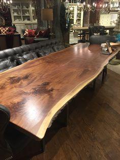 Arhaus live edge table - Manhattan