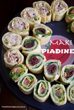 Barbie Magica Cuoca - blog di cucina: Homemade maki piadine