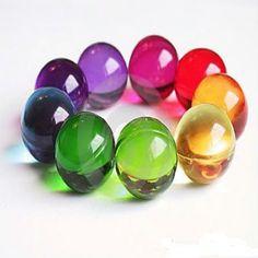 childhood Mixed Colours Circular Bath Oil Beads Floral Fragrance Bath Pearls x 100