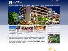 www.brascos.com Brascos Hotel  Δραστηριότητα: Ξενοδοχειακές Επιχ/σεις  Τύπος έργου: Μελέτη, Σχεδιασμός & Ανάπτυξη Δυναμικού Ιστοχώρου