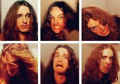 Risultati immagini per cliff burton Jason Newsted, Cliff Burton, Dave Mustaine, Metallica, Hard Rock, Robert Trujillo, Kirk Hammett, We Will Rock You, James Hetfield