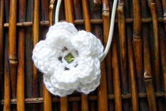 White Triple Layer Flower Elastic Headband by PowersOfLove on Etsy, $6.00