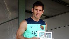 Lionel Messi, ganador del premio Goal 50
