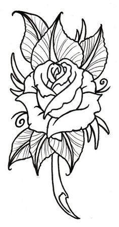 tatoo art rose | rose flower drawing rating 4 5 reviewer nden itemreviewed rose ...