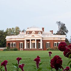 Tour the South's Best Historic Homes   Monticello   SouthernLiving.com  Virginia - home of Thomas JEfferson