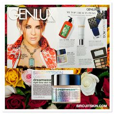 """Check out the spring issue of Genlux Magazine with the sultry Elizabeth Hurley turning heads on the cover!  We we're delighted to see Dreamweaver™+ highlighted in Cecilia's Top Beauty Picks as her spring favorite! Genlux Publisher and Editorial Director, Cecilia Moreno explains, """"This life-changing moisturizer will repair signs of aging, encourage the natural process of cell renewal and hydrate your skin to youthful luminosity!"""" Shop NOW at sircuitskin.com"""