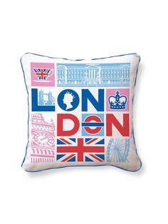 London Calling Pillow