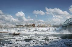 Nodeul Island competition / Studio Akkerhuis