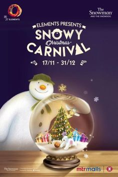 ELEMENTS Snowman And The Snowdog, Christmas Carnival, Snow Globes, Presents, Decor, Gifts, Decoration, Favors, Decorating