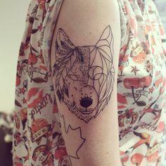 Wildlife Animal Tattoo Native American By Cheyenne