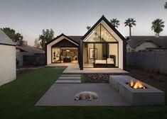 Extensão de casa adiciona espaço aos quartos e às cozinhas